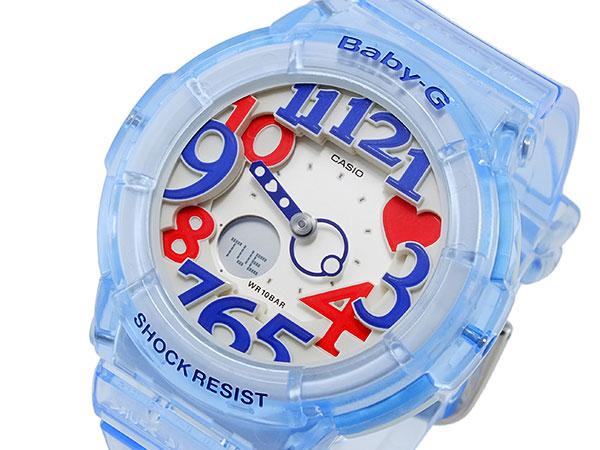 100%本物保証! カシオ CASIO ベイビーG ジェリー・マリン・シリーズ クオーツ レディース 腕時計 BGA-131-2B【送料無料】, 阿波村 fd3d140b