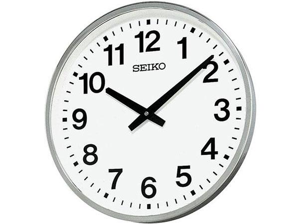 セイコー SEIKO 屋外・防雨用 掛け時計 KH411S【送料無料】