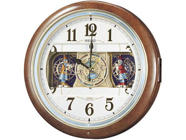 セイコー SEIKO からくり時計 電波時計 掛け時計 RE559H【送料無料】