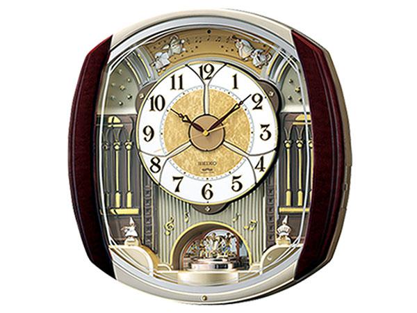 セイコー SEIKO からくり時計 電波時計 掛け時計 RE564H【送料無料】