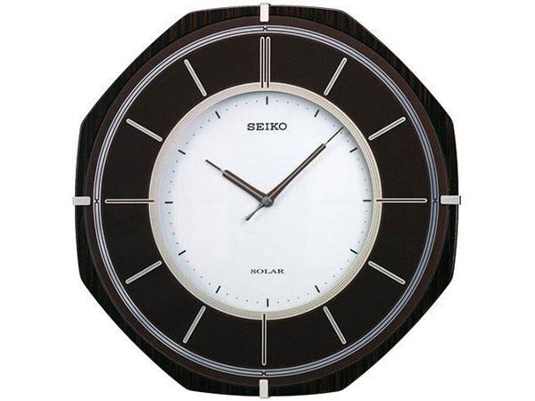 セイコー SEIKO 電波時計 ソーラープラス 掛け時計 SF502B【送料無料】