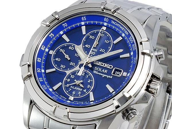 セイコー SEIKO ソーラー メンズ クロノ 腕時計 SSC141P1【送料無料】