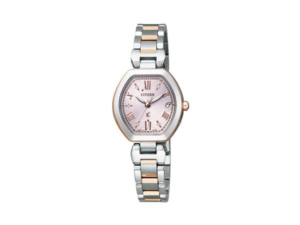 シチズン CITIZEN クロスシー エコ ドライブ 電波時計 レディース 腕時計 ES8054-50W 国内正規【送料無料】