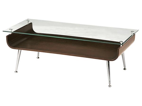 ガラステーブル NET-301BR【代引き不可】【送料無料】