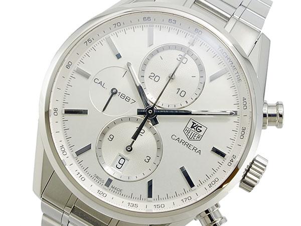 タグホイヤー TAG HEUER カレラ CARRERA 自動巻き クロノグラフ 腕時計 メンズ CAR2111BA0720【送料無料】