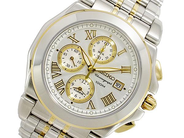 セイコー SEIKO クォーツ クロノグラフ メンズ 腕時計 SNA526P1【送料無料】
