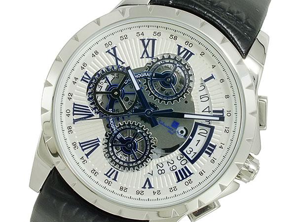 サルバトーレマーラ SALVATORE MARRA クオーツ メンズ 腕時計 SM13119S-SSWHBL【送料無料】