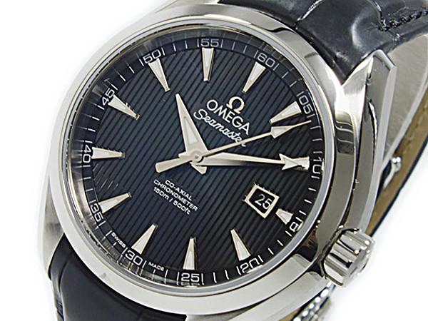 オメガ OMEGA シーマスター アクアテラ コーアクシャル 自動巻 レディース 腕時計 23113342001001【送料無料】