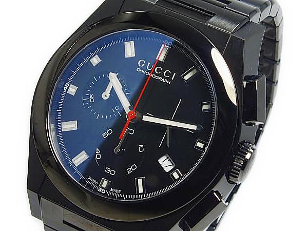 グッチ GUCCI パンテオン PANTHEON クォーツ メンズ腕時計 YA115237【送料無料】