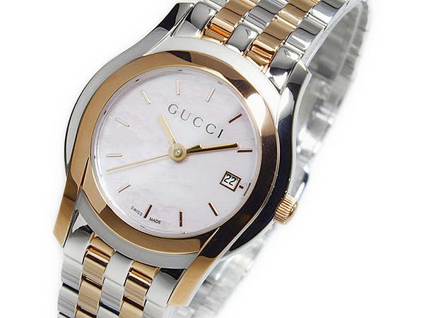 グッチ GUCCI Gクラス クォーツ レディース 腕時計 YA055539【送料無料】
