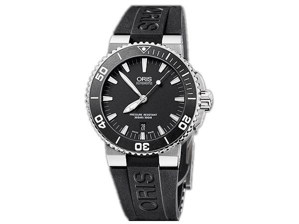オリス ORIS アクイス Aquis 自動巻き メンズ 腕時計 73376534154R 国内正規【送料無料】