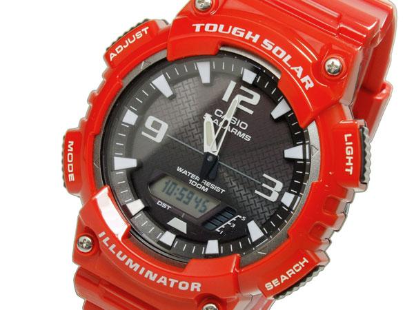 永遠の定番モデル ラッピング無料 カシオ CASIO スタンダード タフソーラー 激安通販 アナデジ 腕時計 AQ-S810WC-4A 時計 メンズ