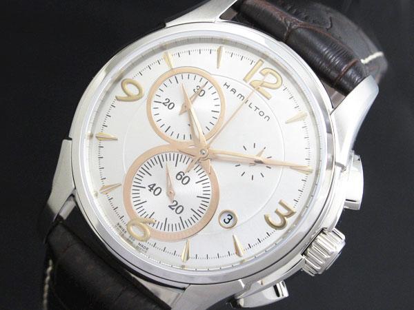 ハミルトン HAMILTON ジャズマスター クロノ メンズ 腕時計 H32612555【送料無料】