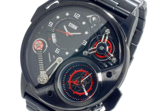 ストーム STORM デュアルトロン DUALTRON クオーツ メンズ デュアルタイム 腕時計 47229SL【送料無料】