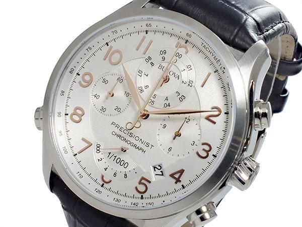 ブローバ BULOVA プレシジョニスト Precisionist クオーツ メンズ クロノグラフ 腕時計 96B182【送料無料】
