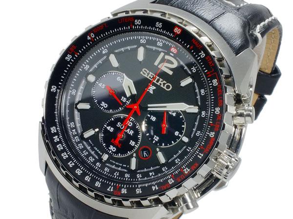セイコー SEIKO クオーツ メンズ クロノグラフ 腕時計 SSC261P2【送料無料】
