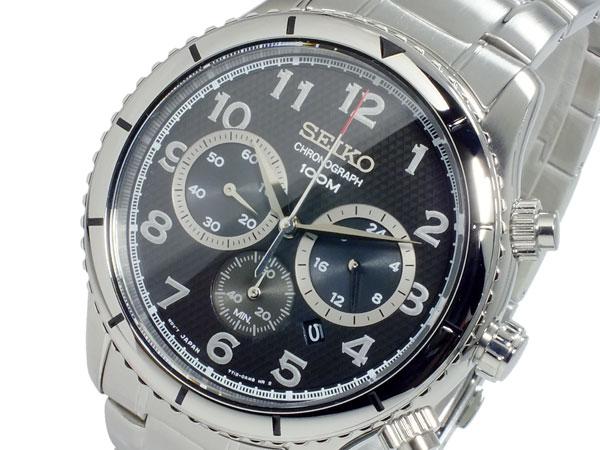 セイコー SEIKO クオーツ メンズ クロノグラフ 腕時計 SRW037P1【送料無料】