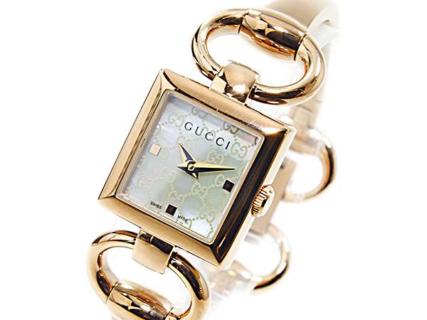 グッチ GUCCI トルナヴォー二 クォーツ レディース腕時計 YA120519【送料無料】