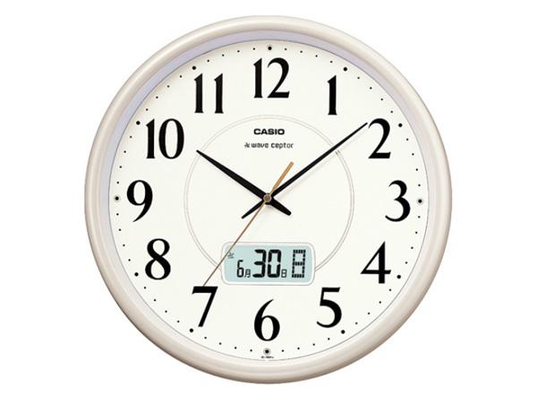 カシオ CASIO 商品 インテリアクロック 電波 国内正規 壁掛け時計 IC-1001J-9JF 秀逸