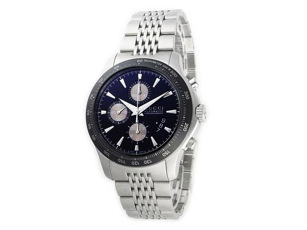 グッチ GUCCI Gタイムレス 自動巻き クロノグラフ 腕時計 メンズ YA126214【送料無料】