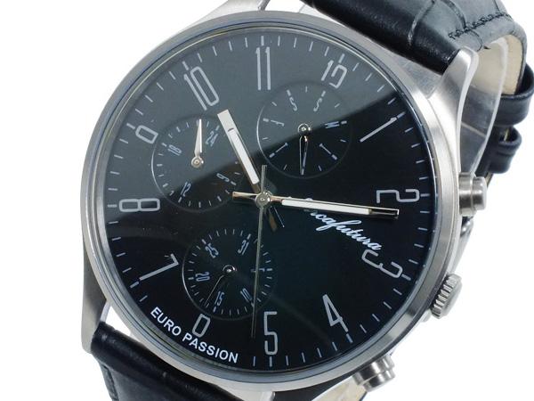 アルカ フトゥーラ ARCA FUTURA クオーツ メンズ 腕時計 EC483BK ブラック【送料無料】