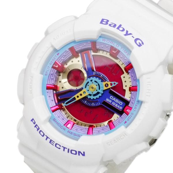 カシオ CASIO ベビーG BABY-G レディース アナデジ 腕時計 BA-112-7A【送料無料】