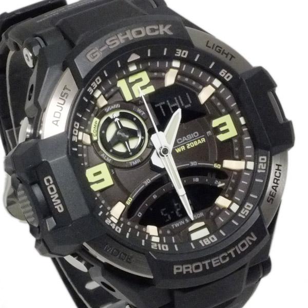 カシオ CASIO Gショック G-SHOCK スカイコックピット メンズ 腕時計 GA-1000-1B【送料無料】
