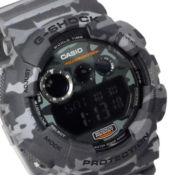 カシオ CASIO Gショック カモフラージュ デジタル メンズ 腕時計 GD-120CM-8【送料無料】