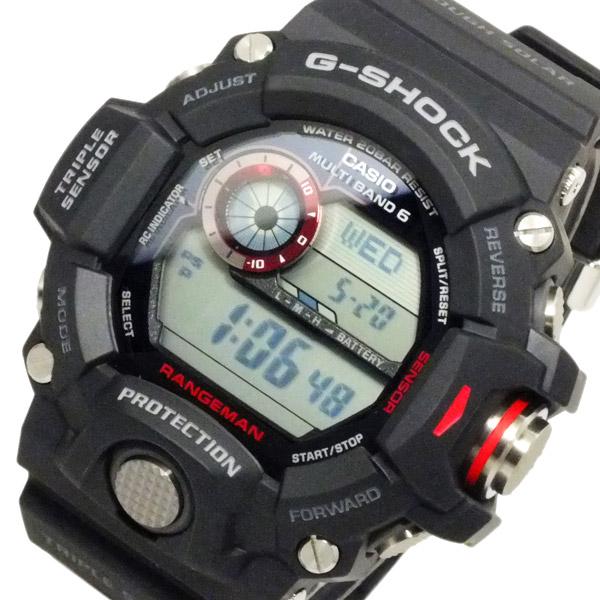 カシオ CASIO Gショック レンジマン 電波 ソーラー メンズ 腕時計 GW-9400-1【送料無料】