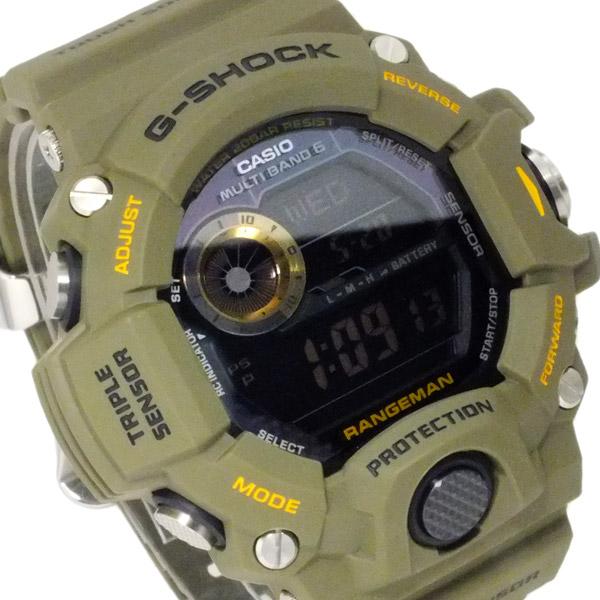 カシオ CASIO Gショック レンジマン 電波 ソーラー メンズ 腕時計 GW-9400-3【送料無料】