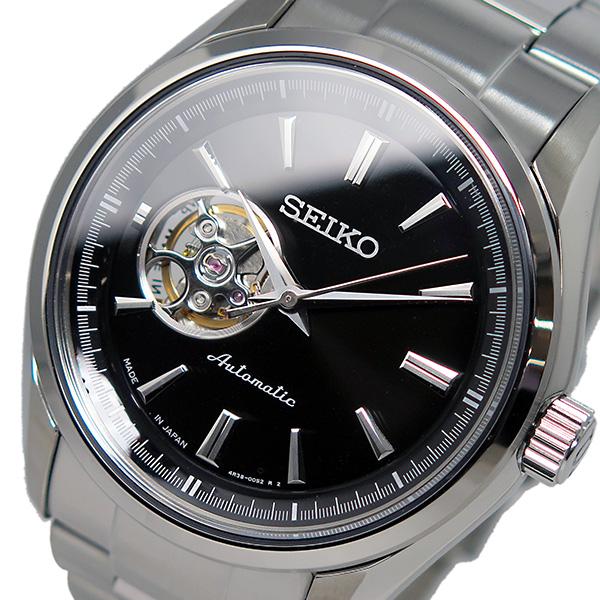 Seiko SEIKO presage automatic black mens watch SSA257J1