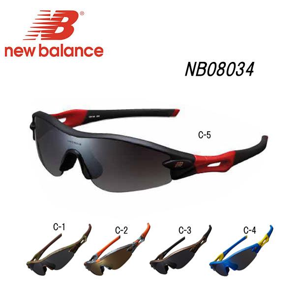 ニューバランス new balance サングラス NB08034 C-5 スモークグラデ
