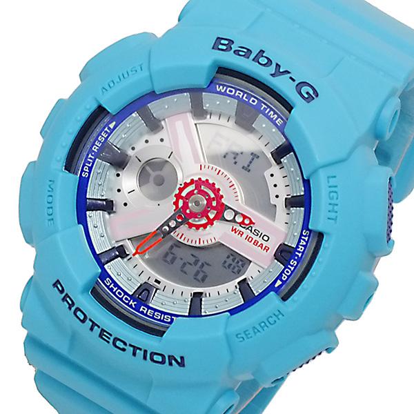 カシオ CASIO ベビーG BABY-G アナデジ レディース 腕時計 BA-110SN-3A【送料無料】