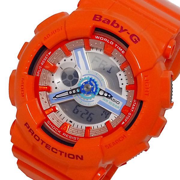 カシオ CASIO ベビーG BABY-G アナデジ レディース 腕時計 BA-110SN-4A