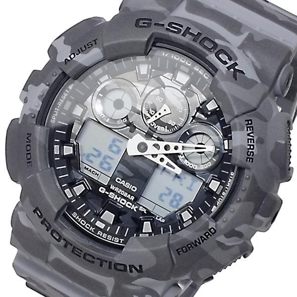 カシオ CASIO Gショック アナデジ メンズ 腕時計 GA-100CM-8A【送料無料】