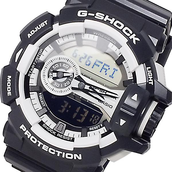 カシオ CASIO Gショック ロータリースイッチ メンズ 腕時計 GA-400-1A【送料無料】