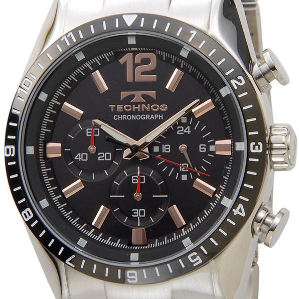 TECHNOS テクノス T1019 クロノグラフ クォーツ メンズ 腕時計 全2色【送料無料】