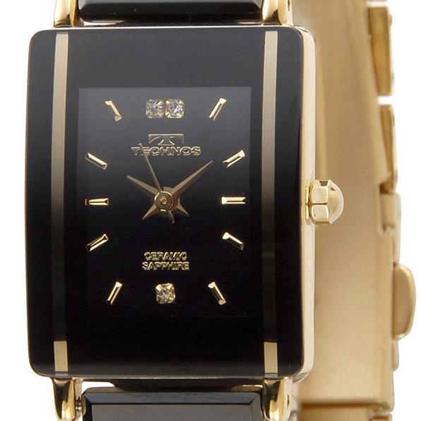 TECHNOS テクノス TAL742 セラミック クォーツ レディース腕時計 全3色【送料無料】