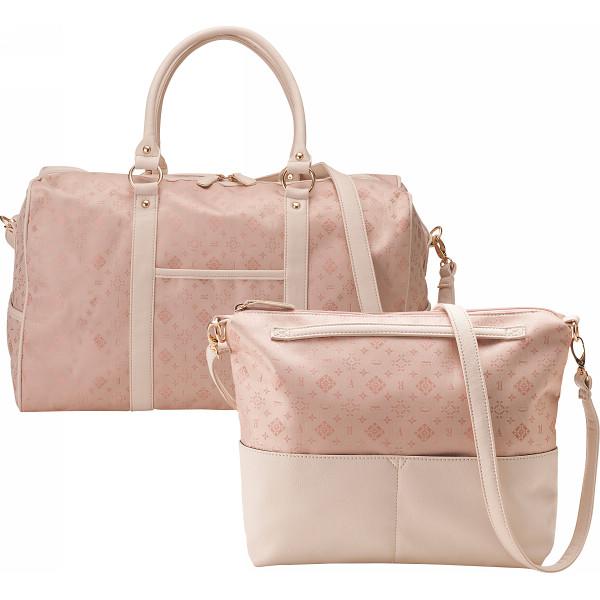 クレアトラベラー ボストン ショルダーバッグ ピンク アパレル 婦人小物 バッグ CR1550-P(代引不可)【送料無料】