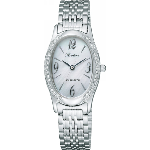 リビエール レディース腕時計 シルバー 装身具 婦人装身品 婦人腕時計 TAQ98-8582(代引不可)