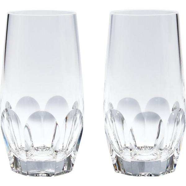 ドレスデンクリスタル ドレスデンクリスタル ダイヤモンド ペアロングタンブラー ダイヤモンド 洋陶器 セット BDD7115C.2(代引不可)【送料無料】