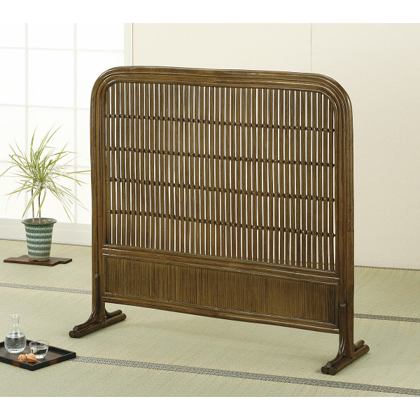 籐衝立 木製品 家具 籐家具 衝立 スクリーン H27B501B(代引不可)【送料無料】