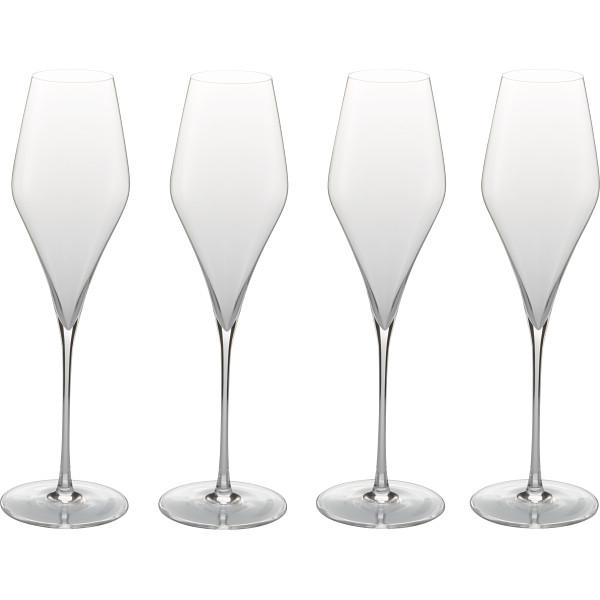 シュトルツル Q1 シャンパングラス4客セット ガラス製品 ガラスカップ ワインセット ST211(代引不可)【送料無料】