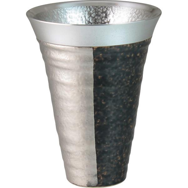 ZEN 錫陶フリーカップ 銀 和陶器 和陶バラエティー ビールカップジョッキ(代引不可)【送料無料】