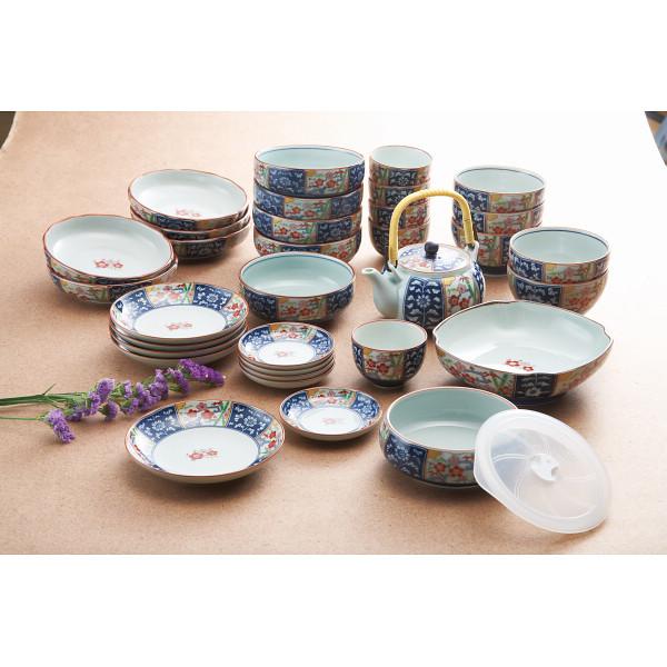 金雲香梅 ホームセット(竹) 和陶器 和陶バラエティー ホームセット 011-897M(代引不可)【送料無料】