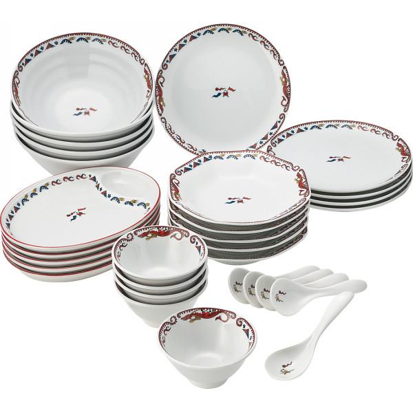 チンタオ 30ピース中華デラックスセット 和陶器 和陶バラエティー ホームセット 247(代引不可)【送料無料】