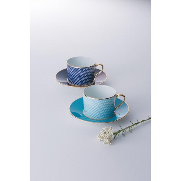 レッグ ハウンズトュース ペアカップソーサー 洋陶器 洋陶コーヒー マグカップセット LE218(代引不可)【送料無料】