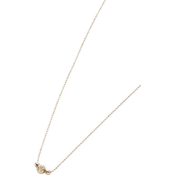18金デザインネックレス 装身具 貴金属ペンダント 金 3106(代引不可)【送料無料】