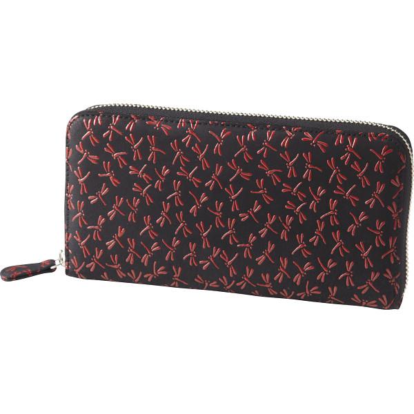 印伝 ラウンドファスナー長財布 装身具 財布 婦人札入れ S-ID153109RD(代引不可)【送料無料】