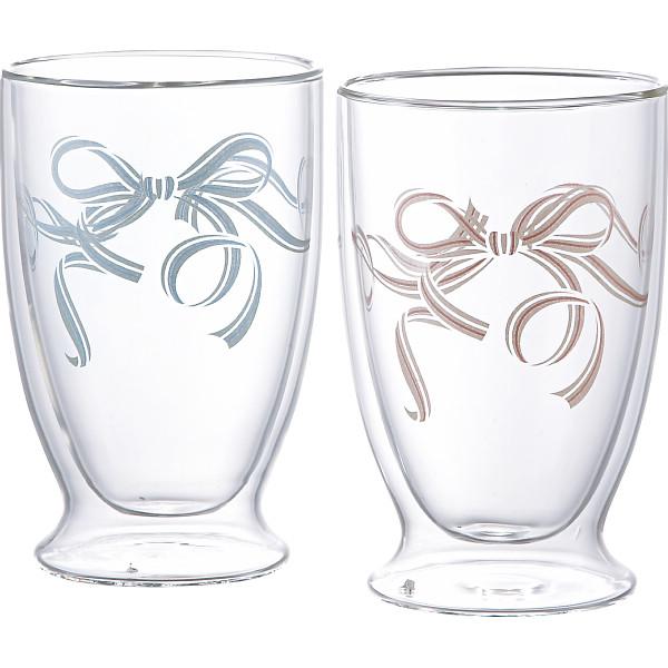 プラスルーム デュレ ペアタンブラー ガラス製品 ガラスカップ タンブラーセット PR‐DR02(代引不可)